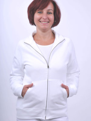 Fruit of the Loom Lady Fit Sweat Jacket női kardigán