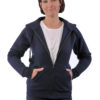 FoL Lady Fit Sweat Jacket kapucnis